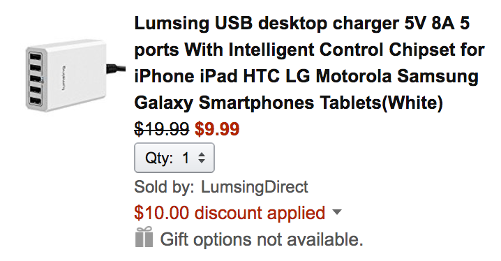 lumsing-charger