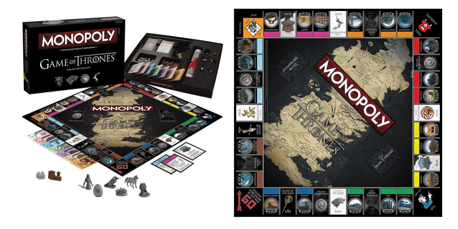 Monopoly Game of Thrones now $14 + more board games from $4 for today only