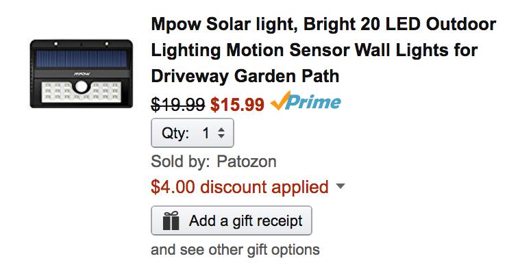 mpow-solar-light-amazon-deal