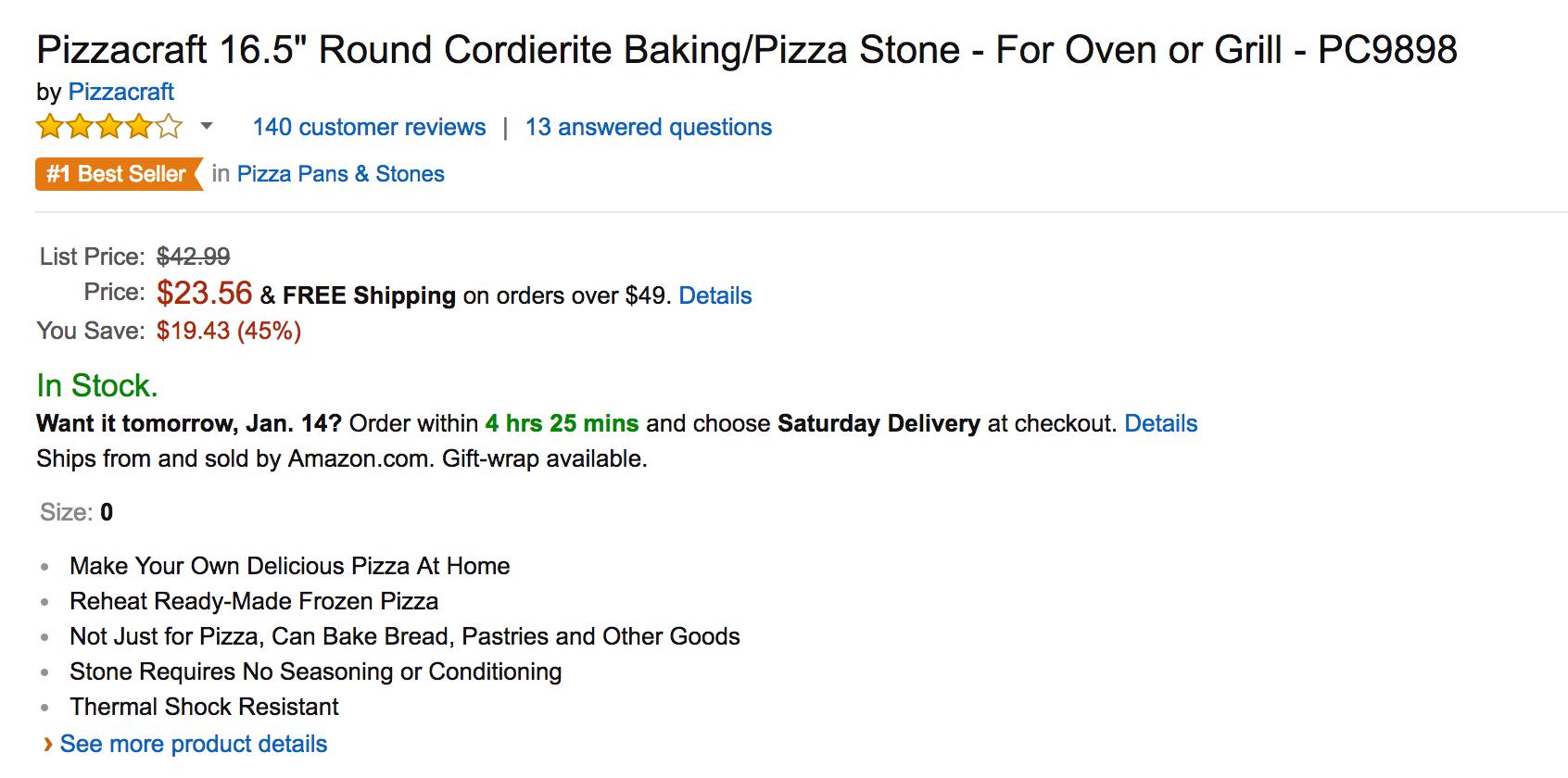 pizzacraft-16-5-inch-round-cordierite-bakingpizza-stone-2