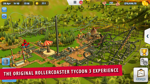 RollerCoaster Tycoon 3 drops to its lowest price ever on the App