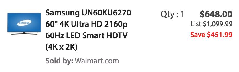 samsung-4k-uhdtv-walmart-deal