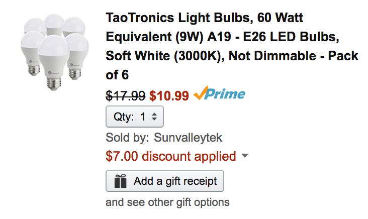taotronics-amazon-light-bulb-deal