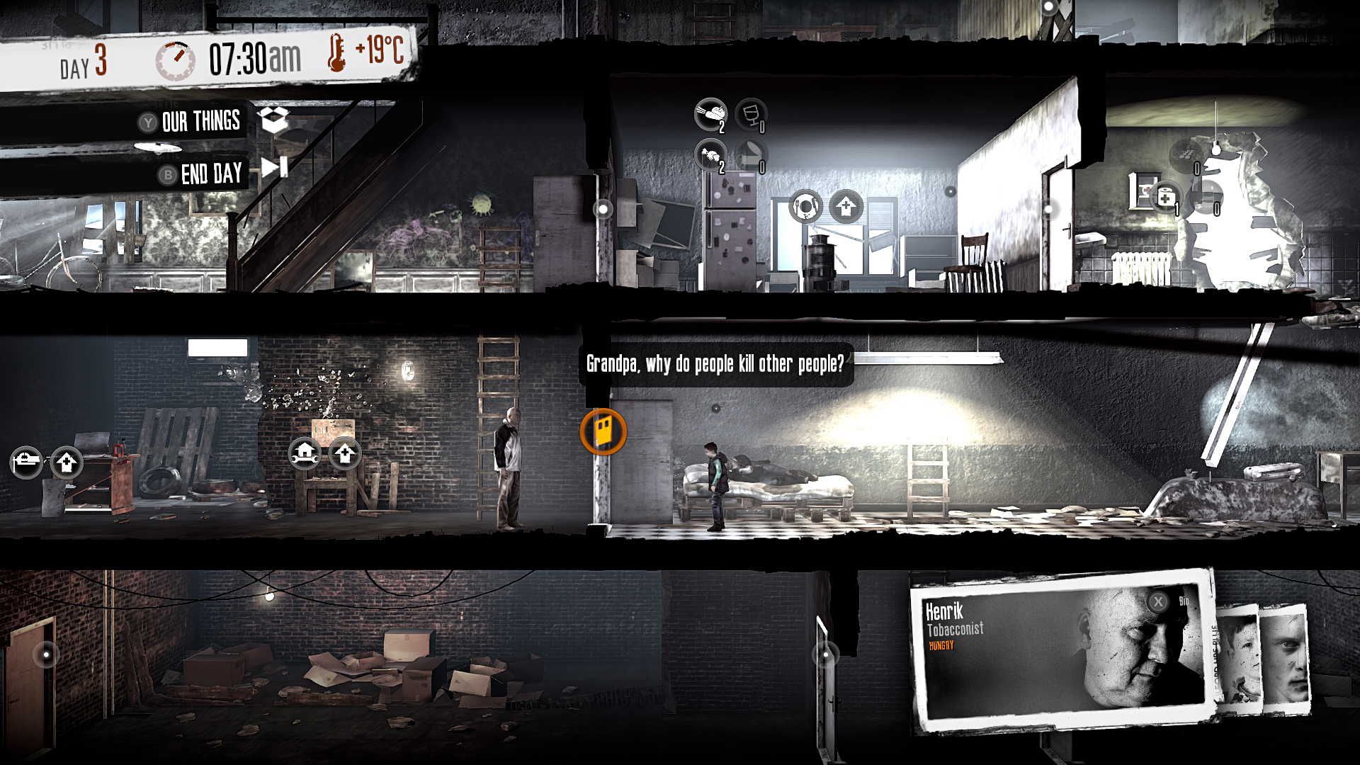Can you survive in a besieged city? Find out in This War of Mine for iOS, now $3 (Reg. $15)