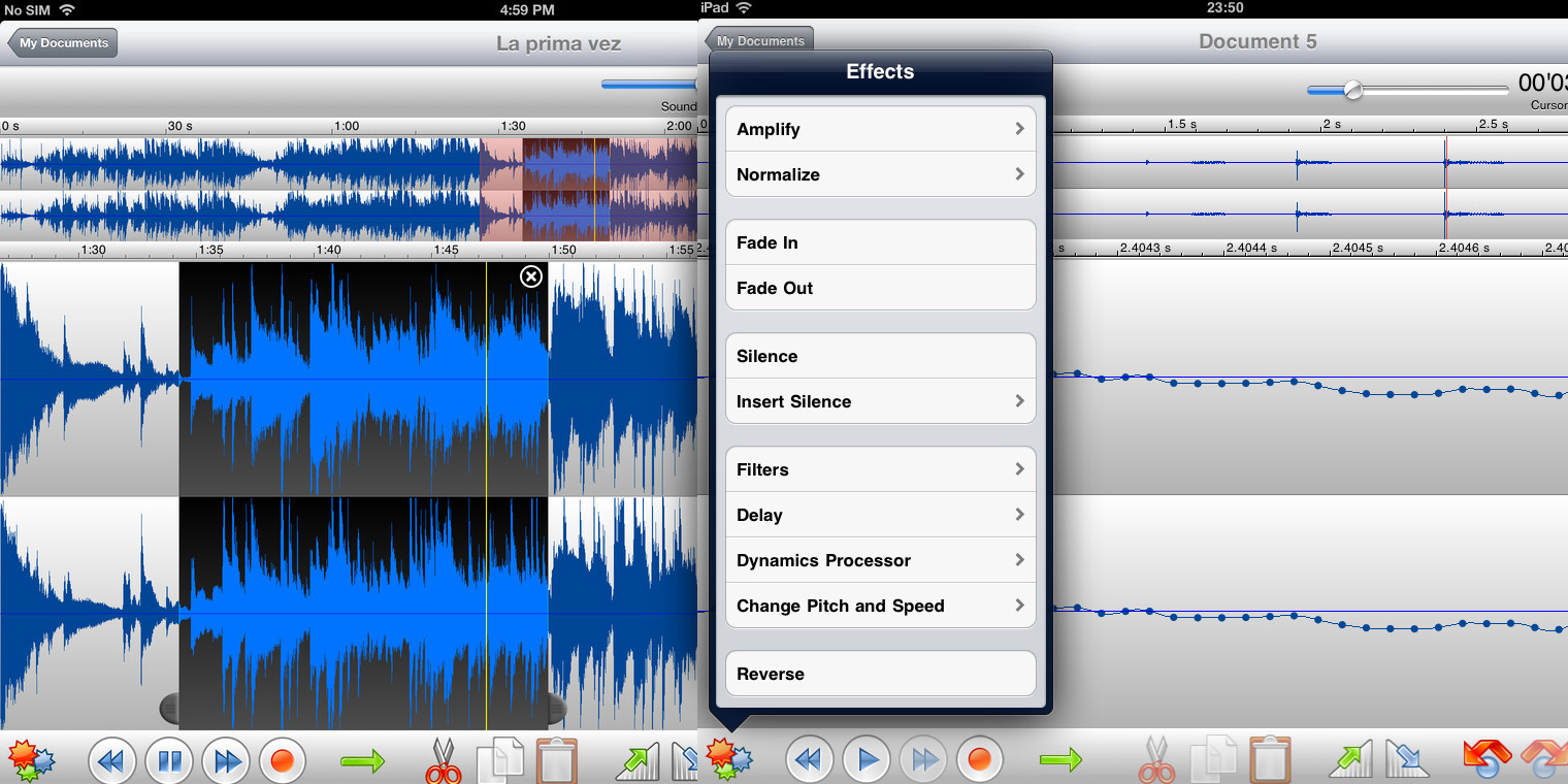 The TwistedWave Audio Editor for iOS goes free for the very first