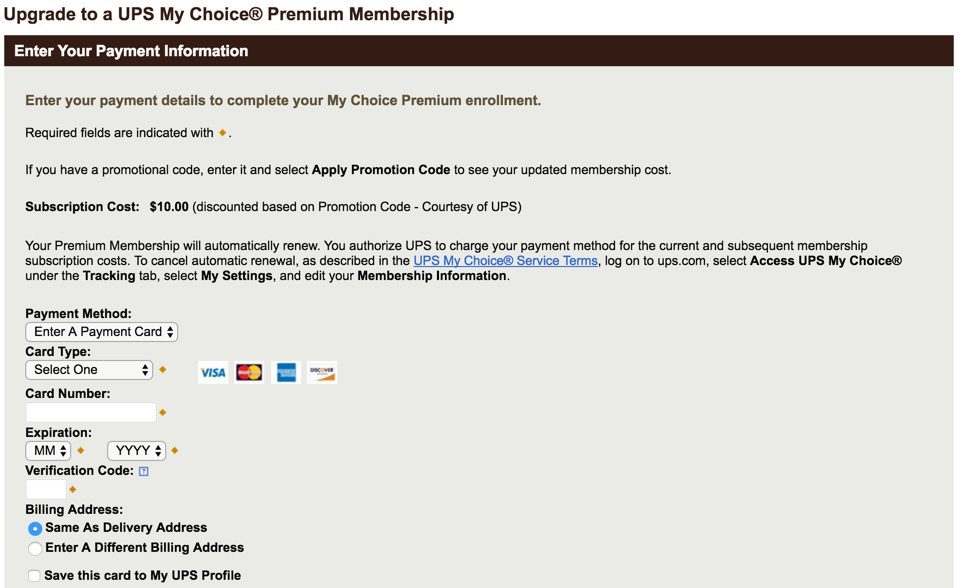 ups-promo-code-my-choice-membership