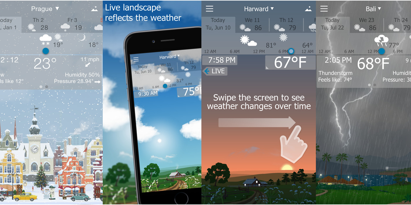 YoWindow Weather for iOS now FREE for first time in over a year (Reg ...
