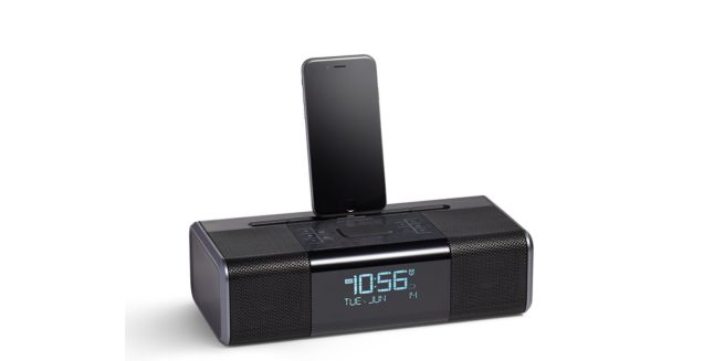 amazonbasics-lightning-dock-clock-radio