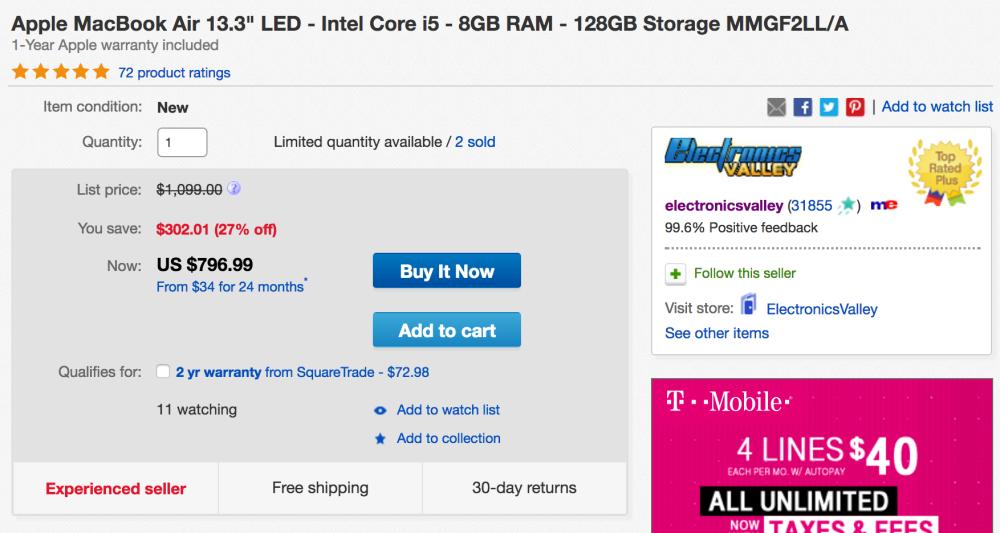 apple-macbook-air-128gb-ebay-deal