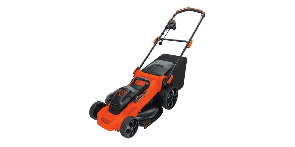 black-decker-electric-mower