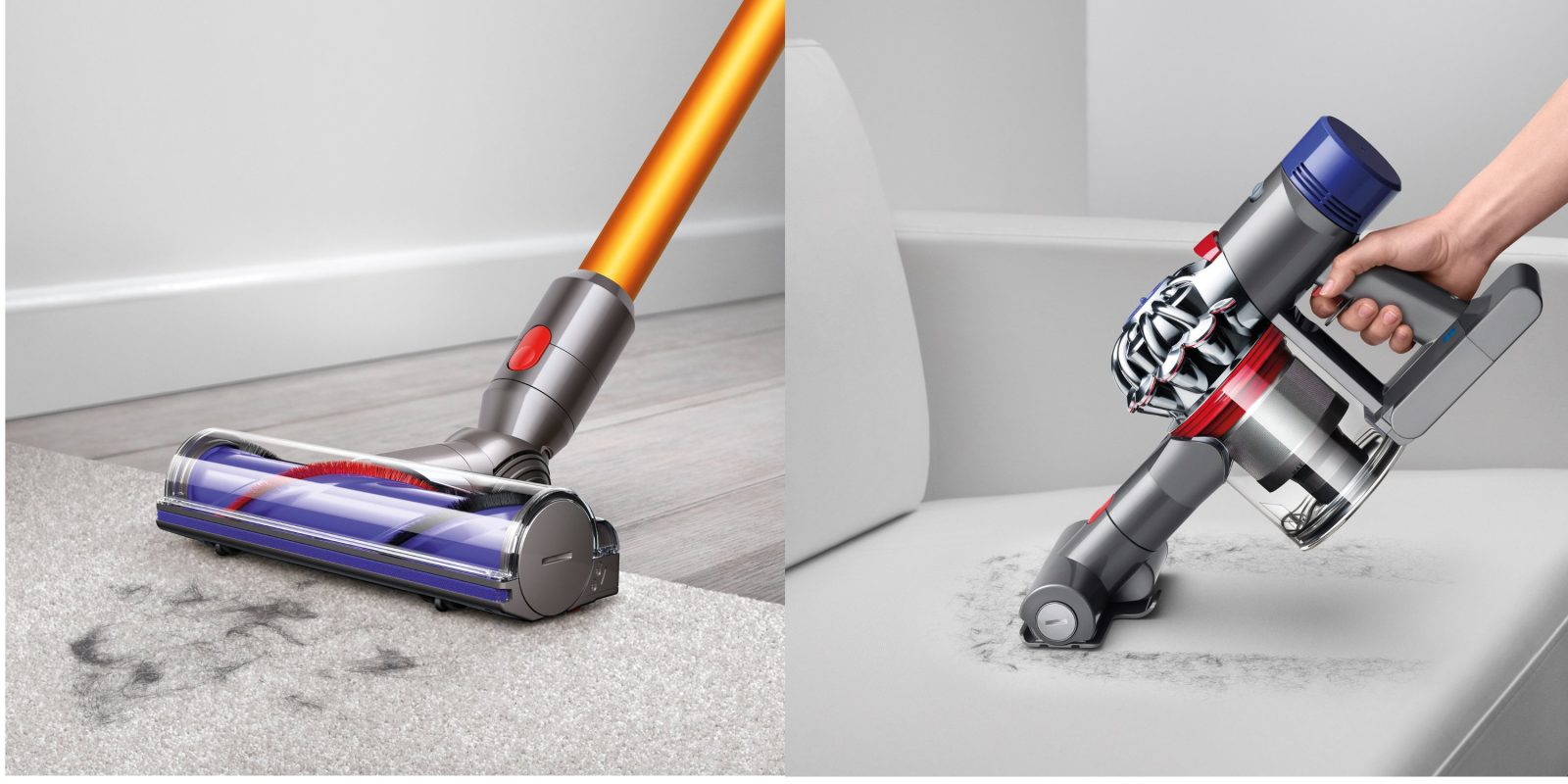 dyson s sv10 v8 total clean cordless vacuum drops to 270 shipped refurb orig 600 9to5toys. Black Bedroom Furniture Sets. Home Design Ideas