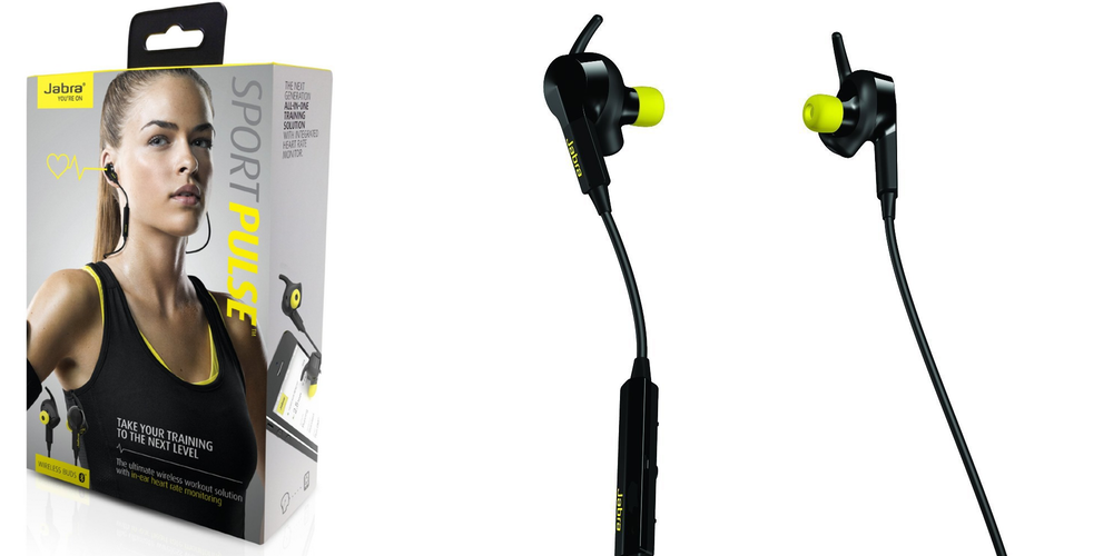 Smartphone Accessories Jabra Sport Pulse Bluetooth Headset With Built In Heart Rate Monitor 65 Reg 108 More 9to5toys