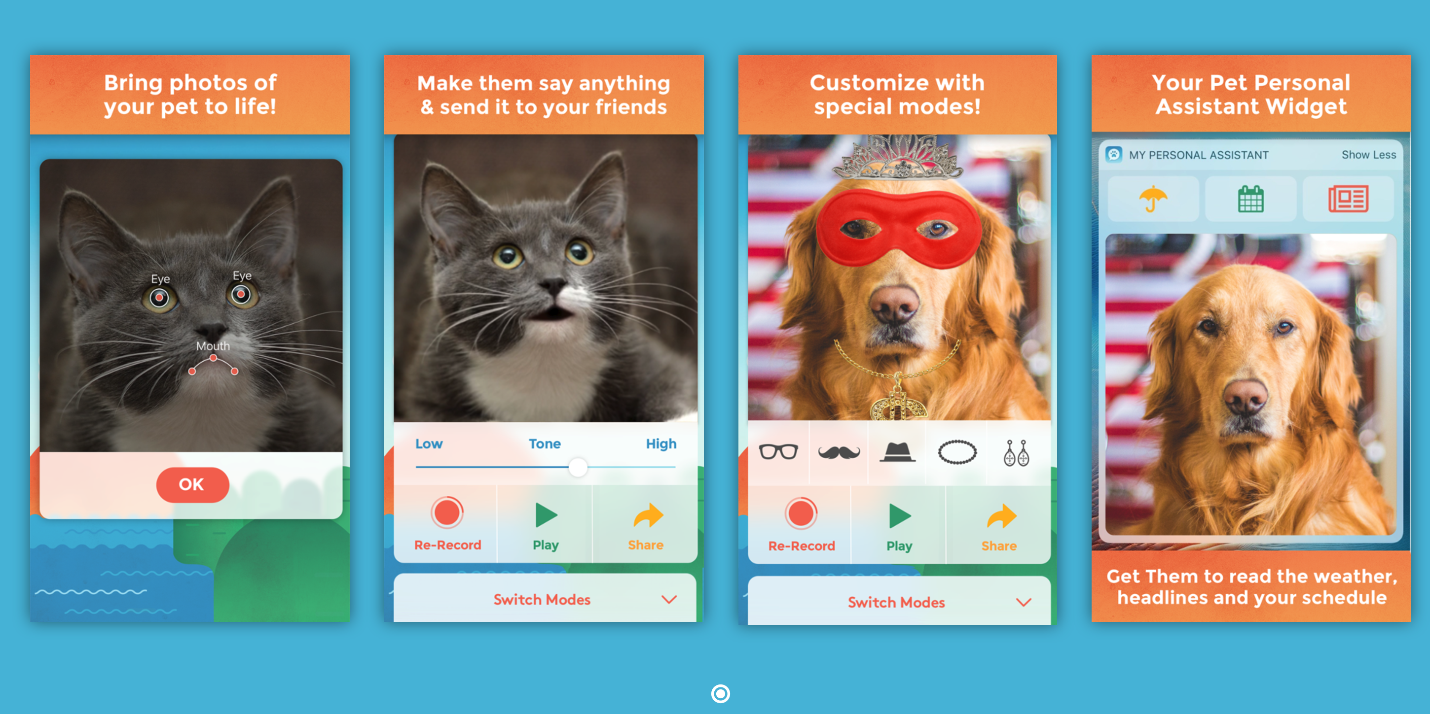 Make Hilarious Puppy Kitty Videos With My Talking Pet For Ios Now Available For Free On The App Store Reg 1 9to5toys