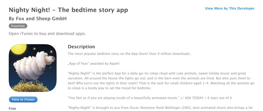 nighty-night-app-ios