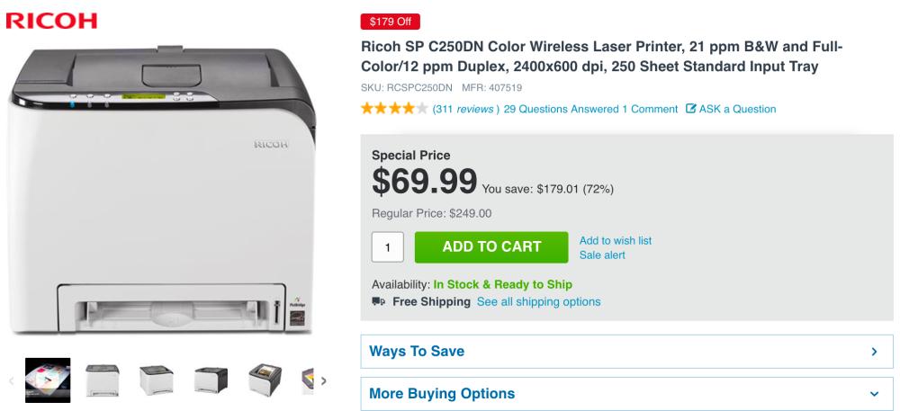 ricoh-laser-printer