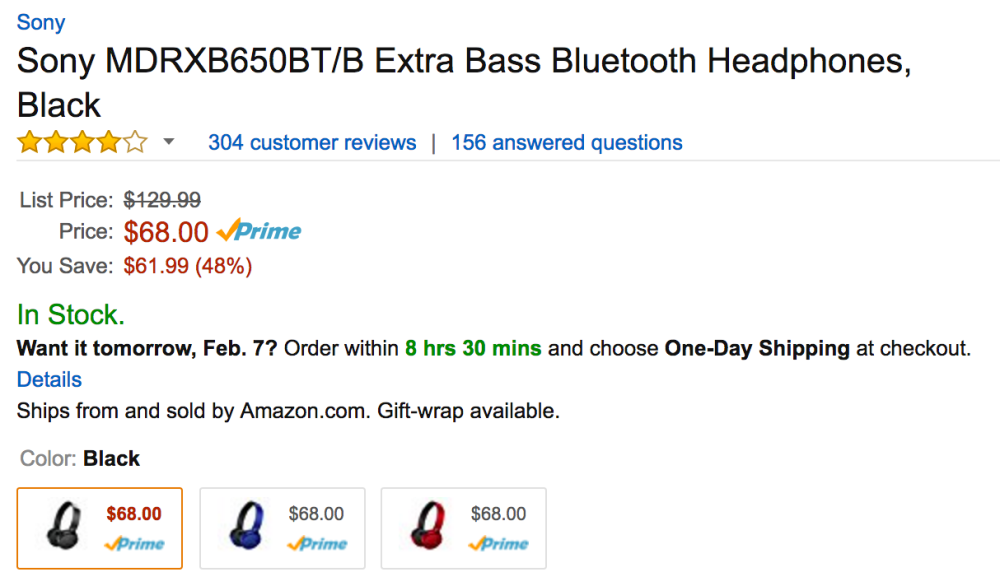 sony-extra-bass-bluetooth-headphones-amazon-deal