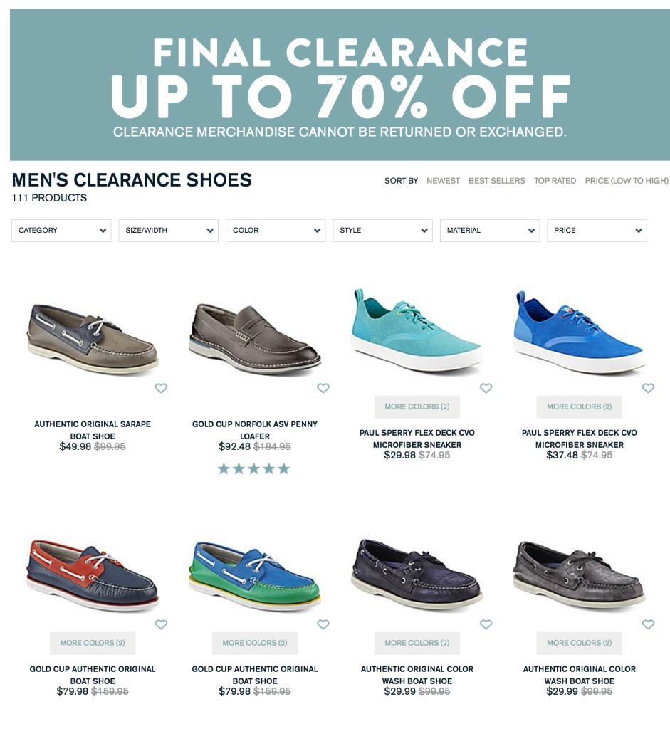 sperry-shoe-sale