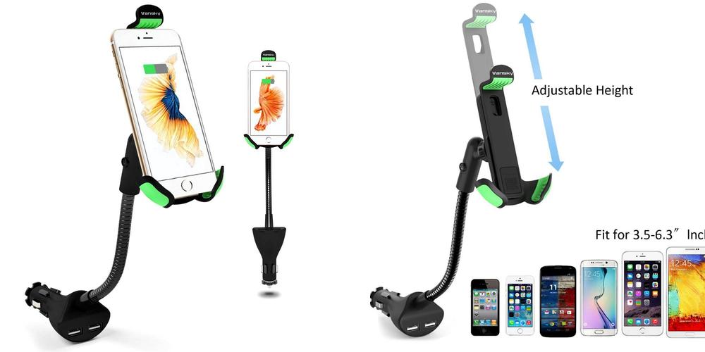 vansky-universal-gooseneck-car-mount-charger-holder