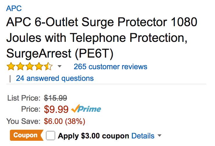 apc-surge-protector-deal