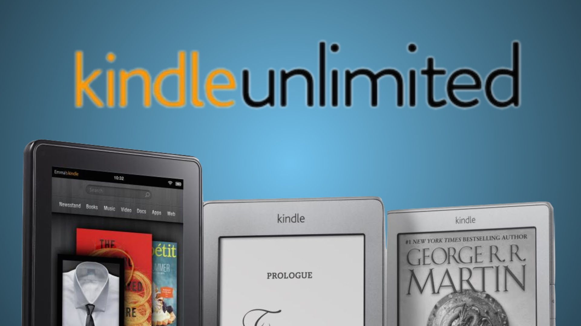 Pay $1 for a 3-month Kindle Unlimited subscription and enjoy access to over one million books