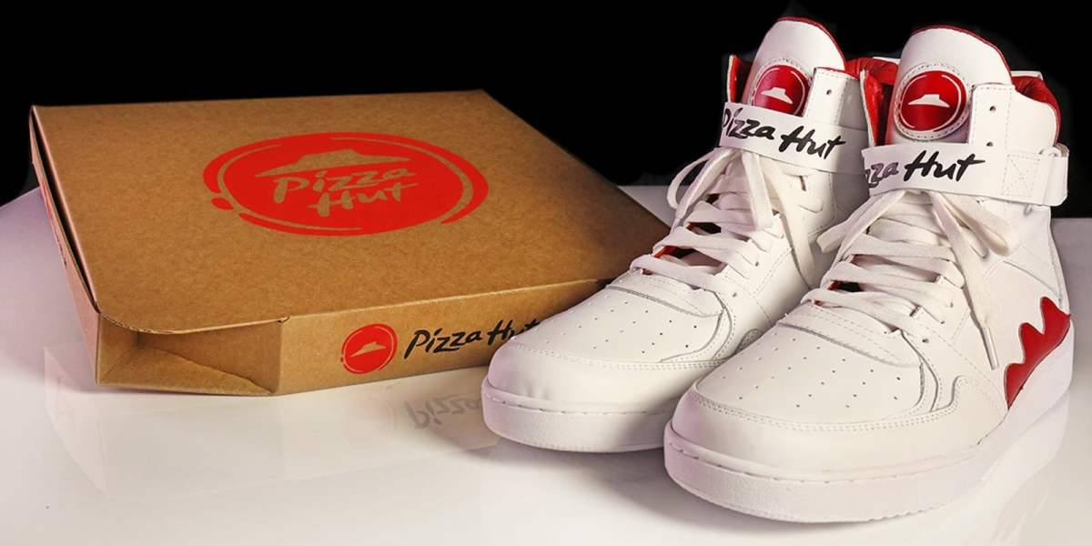 Pizza Hut's Pie Top Sneakers