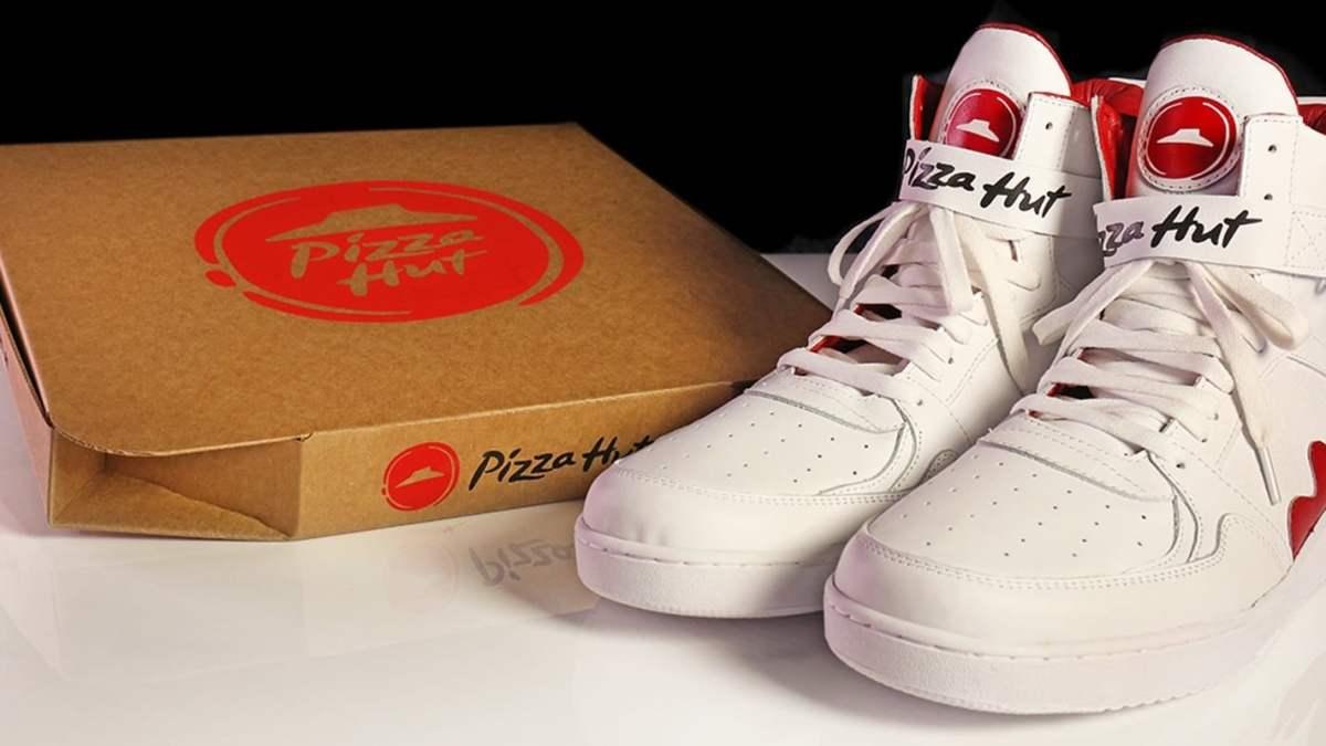 Pizza Hut's Pie Top Sneakers