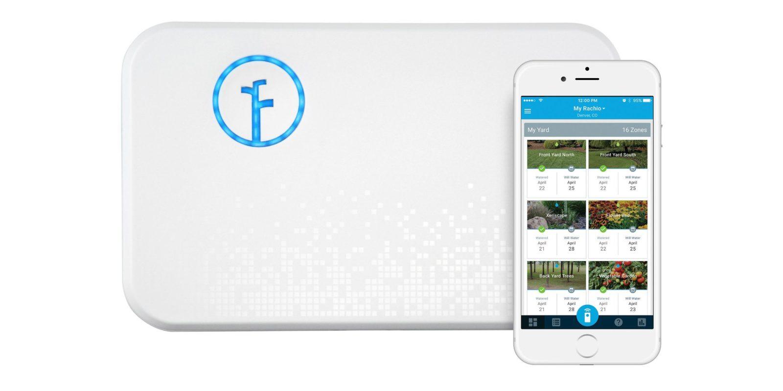 Rachio's popular smart sprinkler controller is $100, beating the Amazon low
