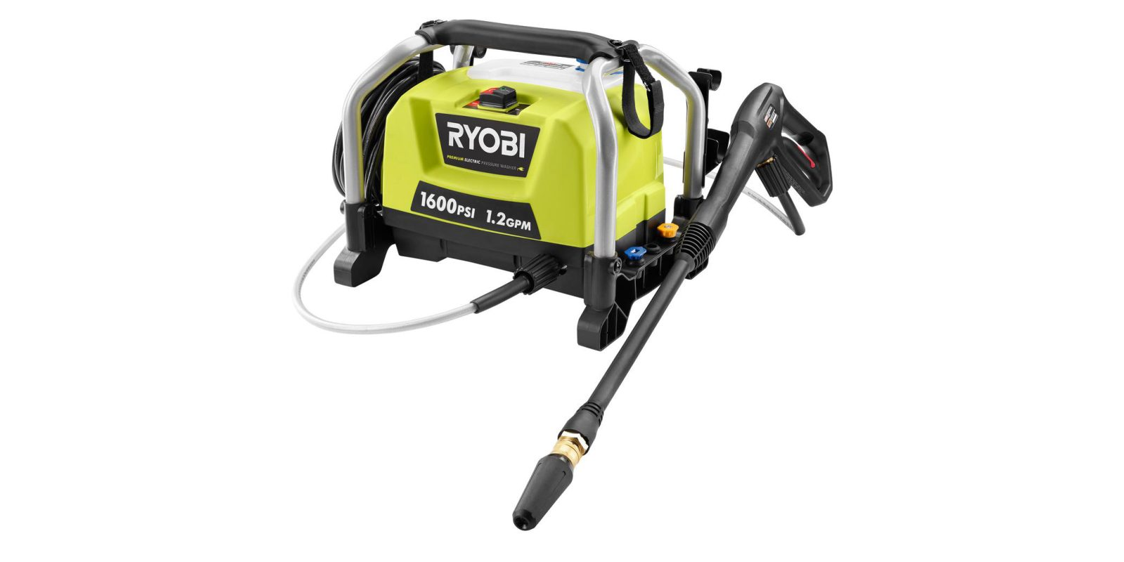 Green Deals: Ryobi 1.2GPM 1600PSI Electric Pressure Washer (cert. refurb) $70, more