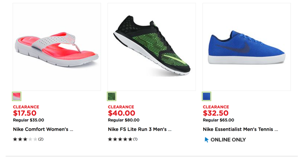 newest 78afc a8e9b Nike shoes and apparel up to 70% off at Kohl s - 9to5Toys