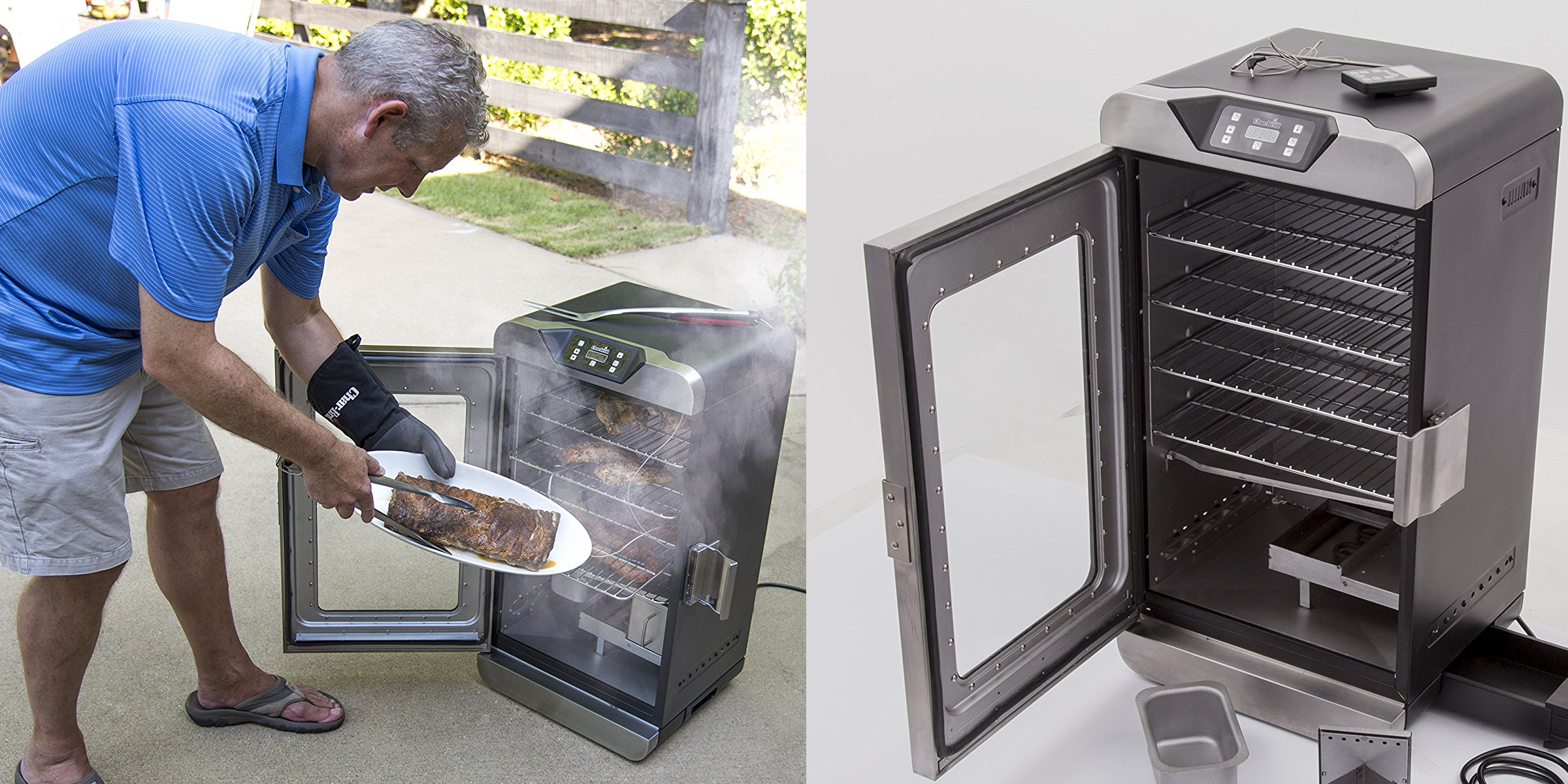 Char Broil Home Electric Meat Smoker Hits All Time Low