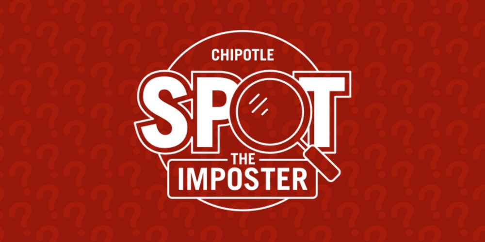 Fine the imposter Chipotle ingredient
