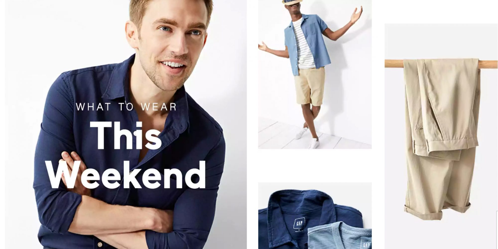 GAP's deals are back with up to 70% off sitewide + an extra 20% off your purchase