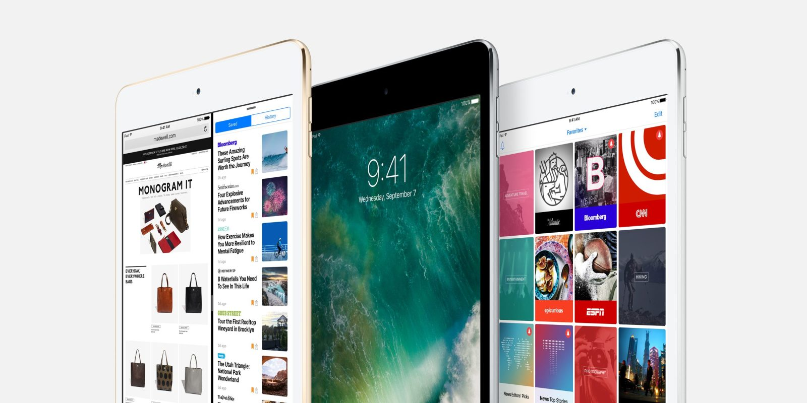 Apple iPad mini 4 is down to $275 in all colors if you missed yesterday's deal