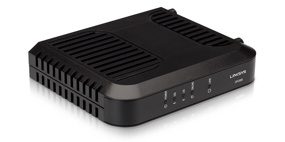 Linksys Cable Modem Deal