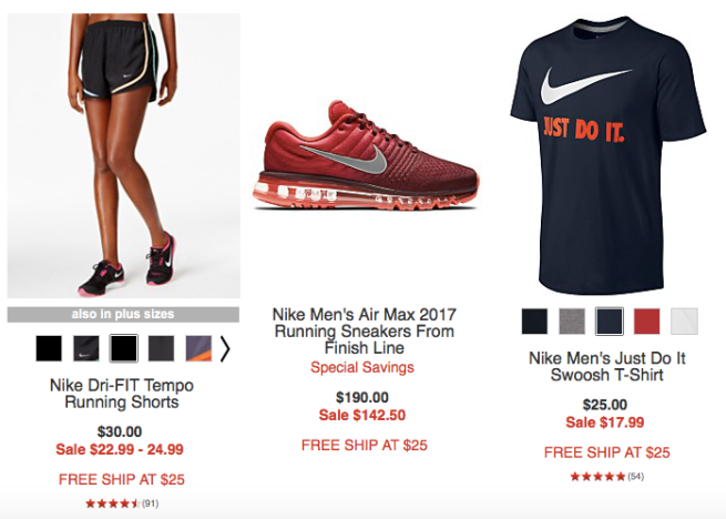 Get 25% off Nike styles at Macy's for men, women, and kids 9to5Toys