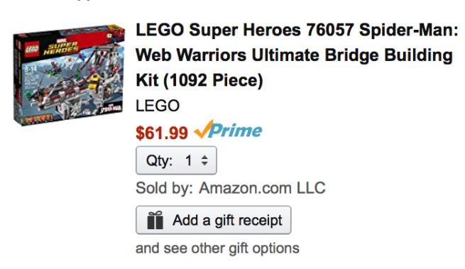 Lego Spider Man Web Warriors Ultimate Bridge Battle For