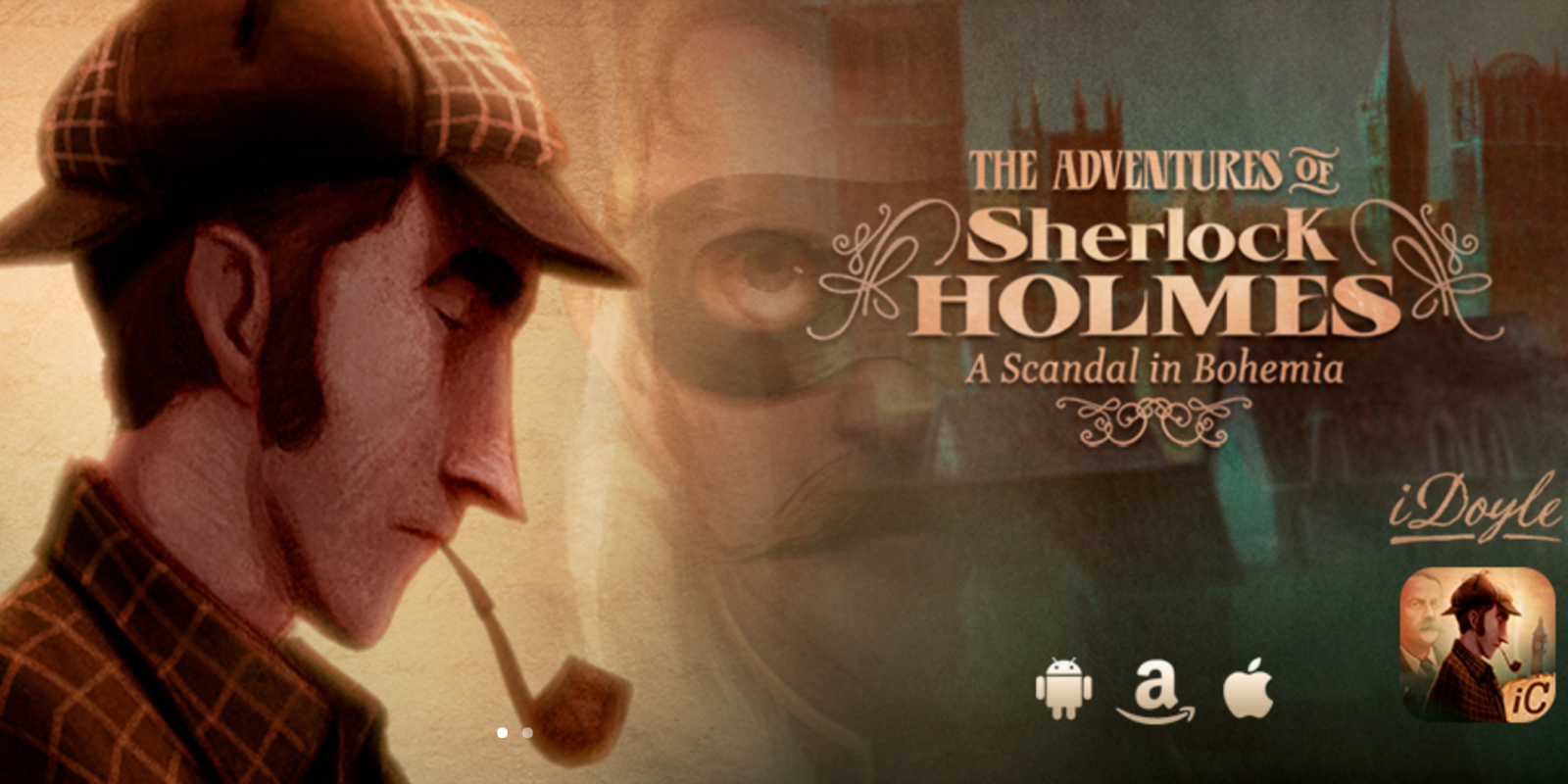 Step into the interactive world of Sherlock Holmes for just $1 on iOS (Reg. $4), more