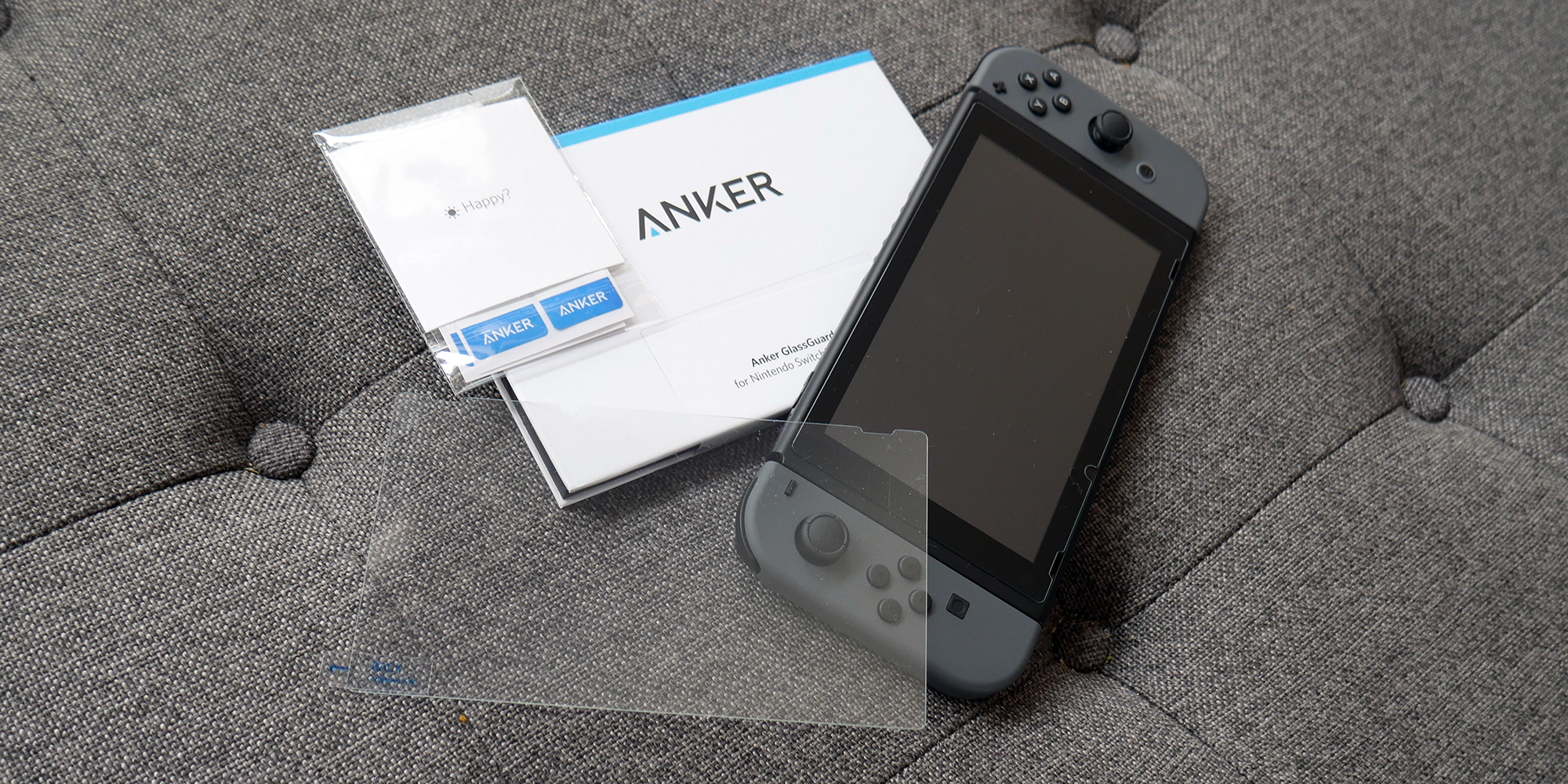 Anker GlassGuard for Nintendo Switch