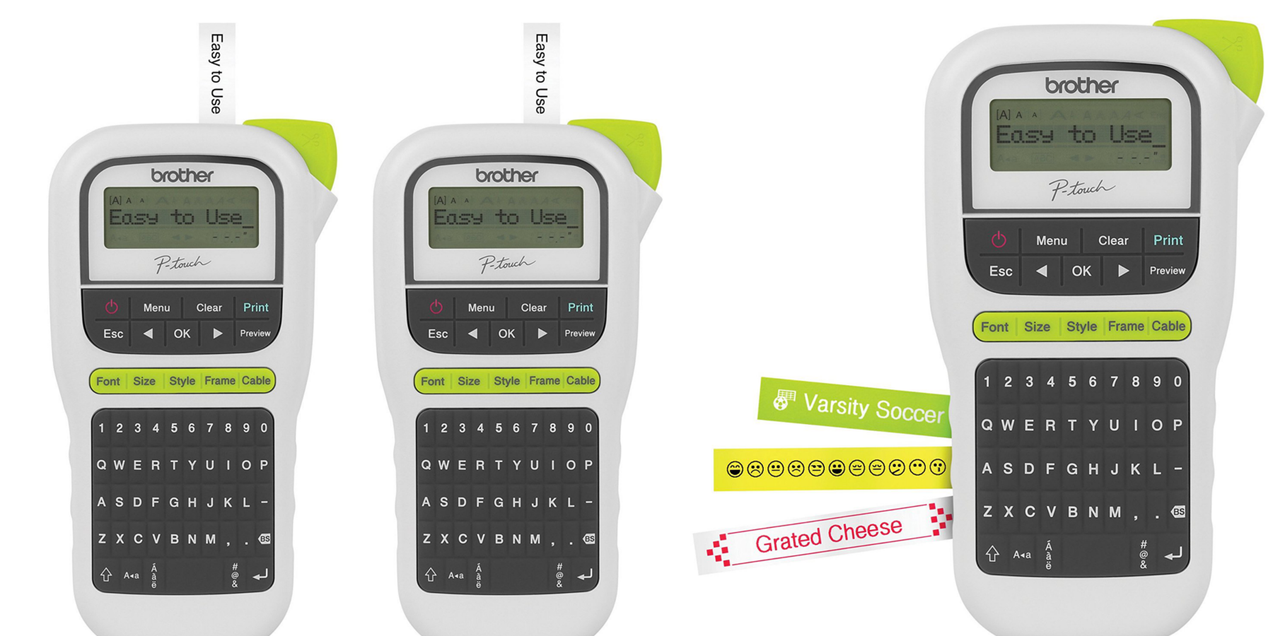 It is a graphic of Versatile Handheld Label Maker Walmart
