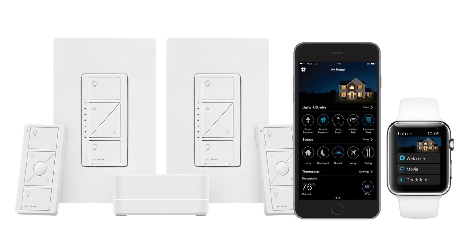 Add Lutron S Homekit Enabled Dimmer Switches To Your Setup