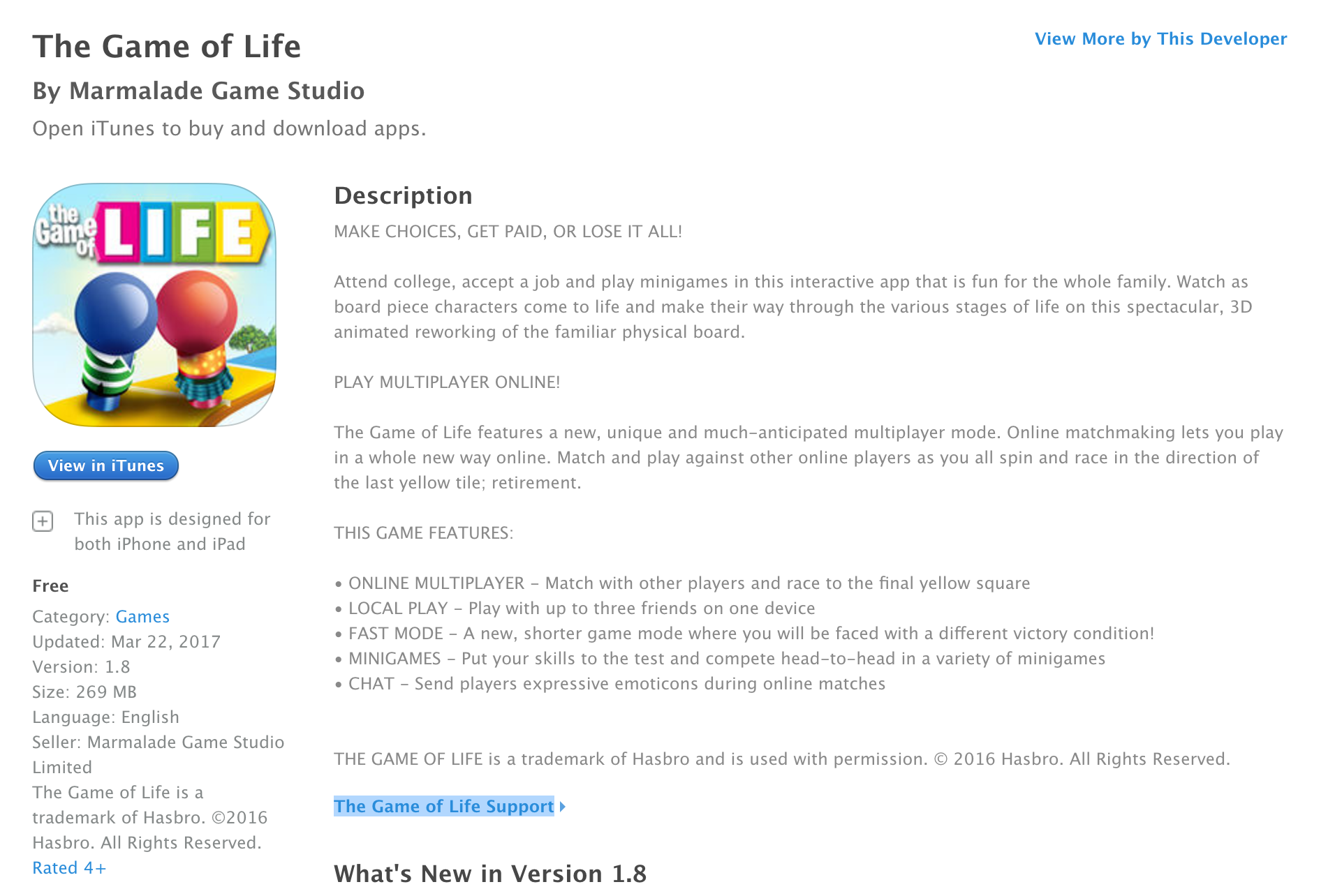 the game of life on ios goes free for very first time reg 3