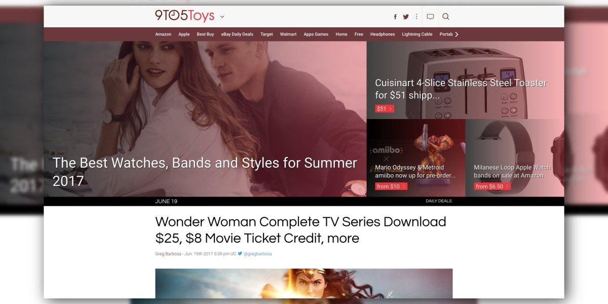 9to5Toys 2017 Design Refresh