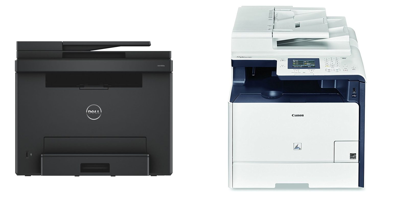 Dell And Canon Airprint All In One Color Laser Printers