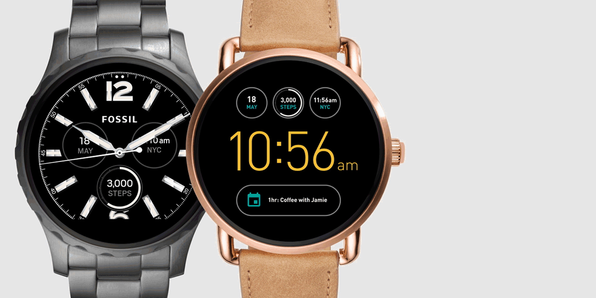 Amazon discounts Fossil Q Android Wear Smartwatches to $93 shipped