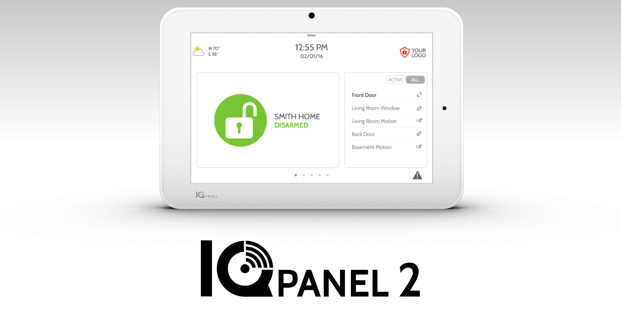 Qolsys S Iq Panel 2 Could Be The Only Smart Home System
