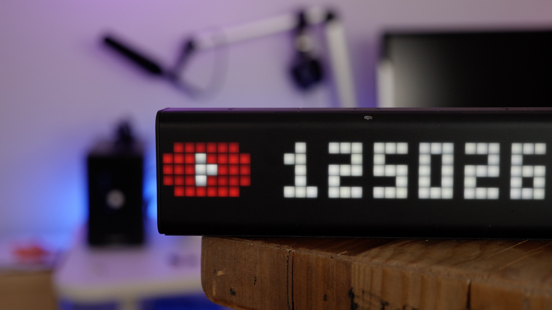 LaMetric Smart Home Wi-Fi Clock with Alexa support for $169