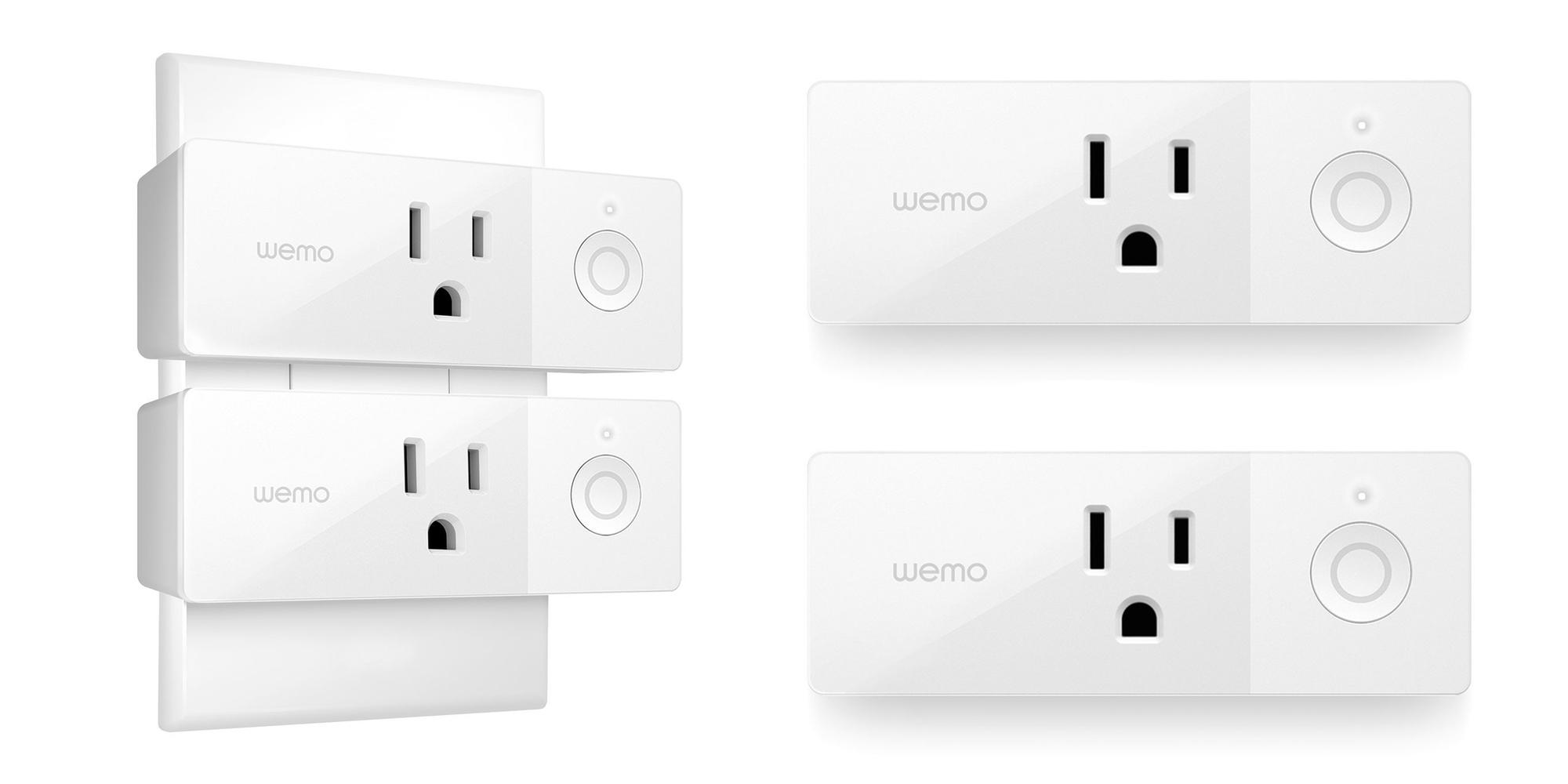 Belkin's Wemo Mini Smart Plugs work w/ Apple HomeKit: 2-pack for $37 (Refurb, Orig. $70)
