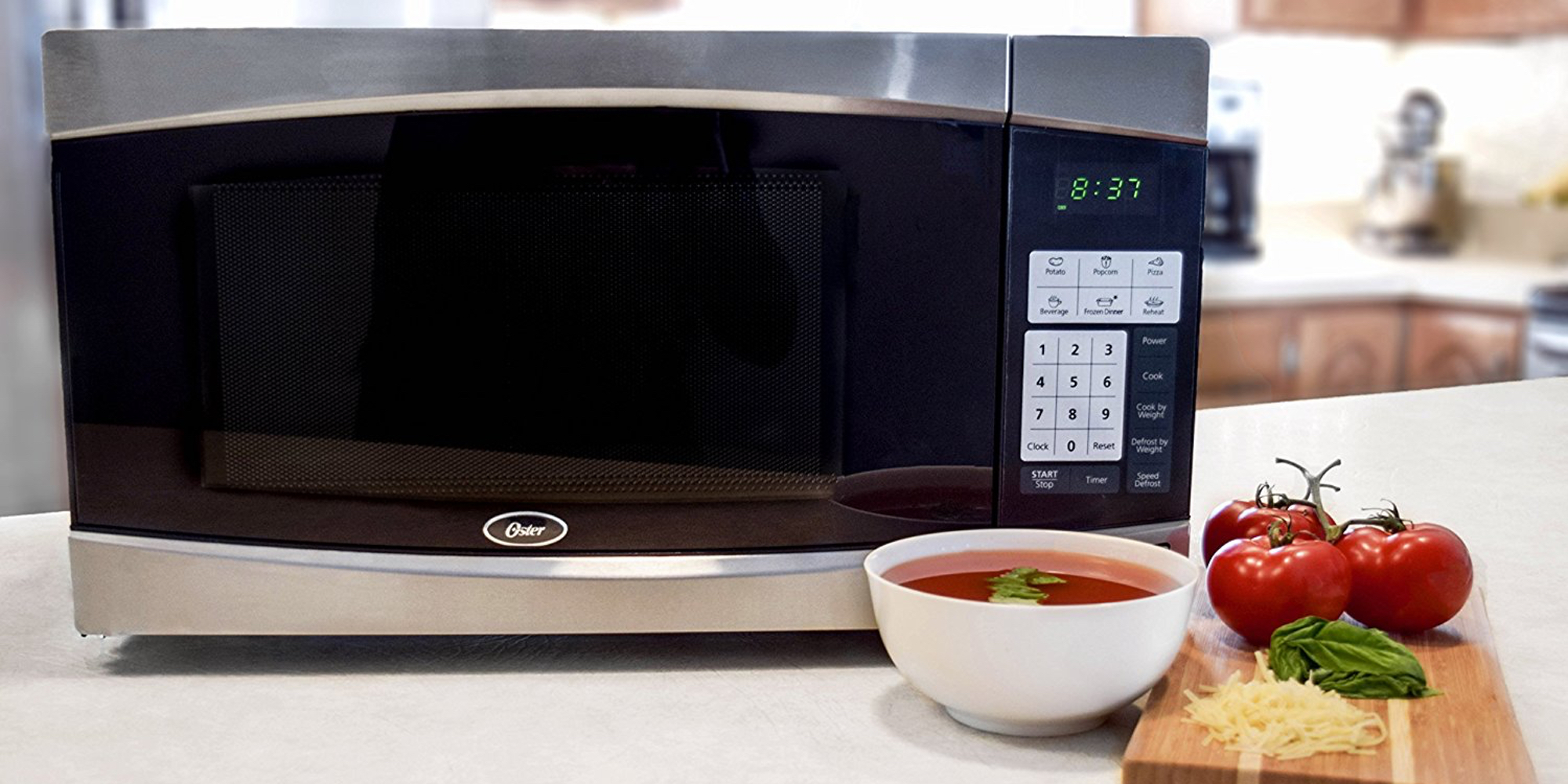 Oster S 900 Watt Countertop Microwave Hits 40 Shipped