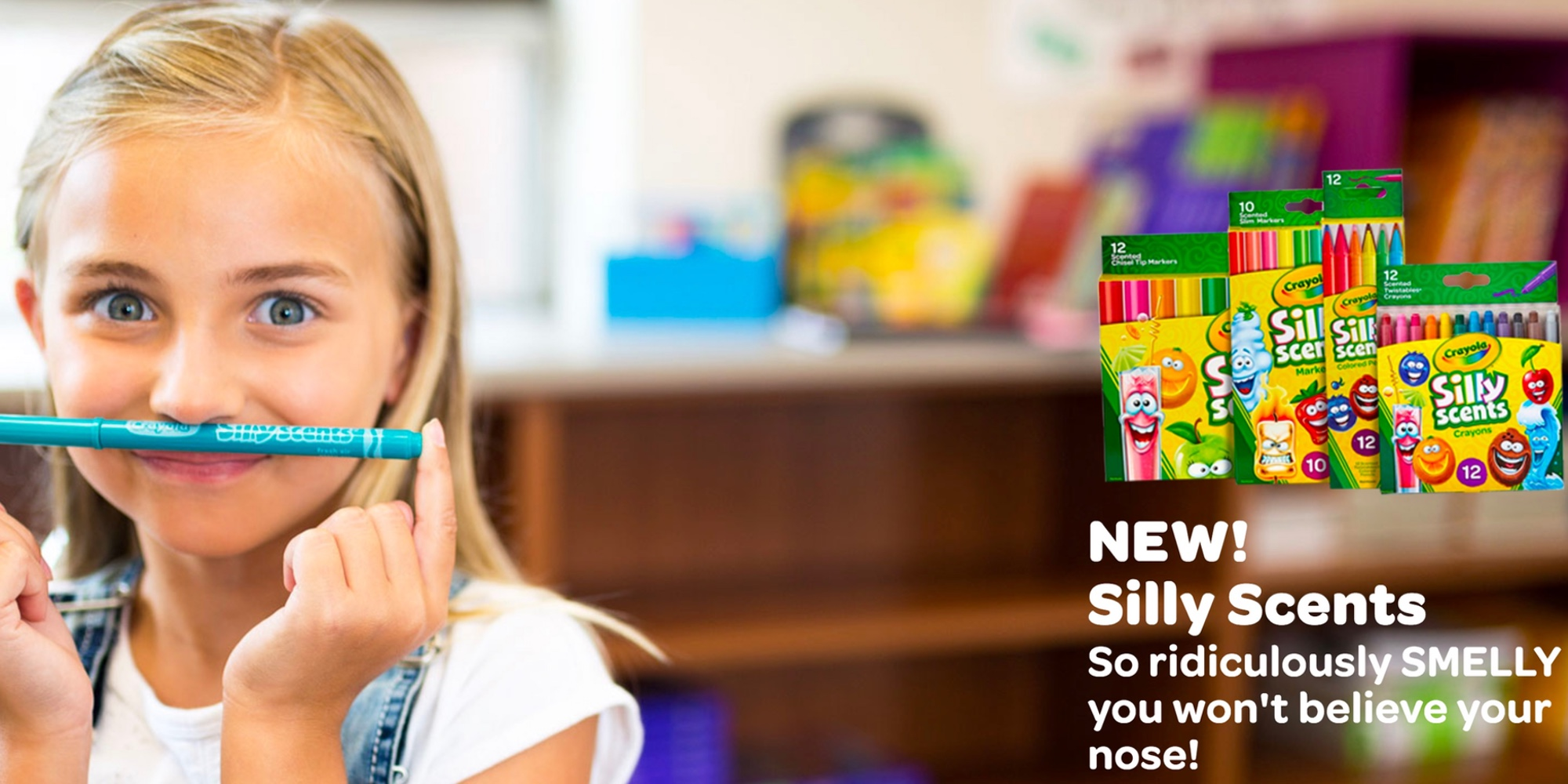 Crayola Is Making Your Kids Back To School Cool With