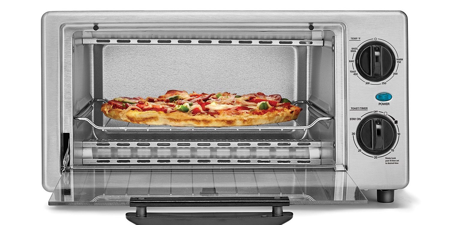 You Can Grab A Brand New Bella 4 Slice Toaster Oven For